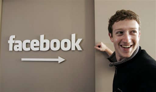 Mark Zuckerberg. Facebook