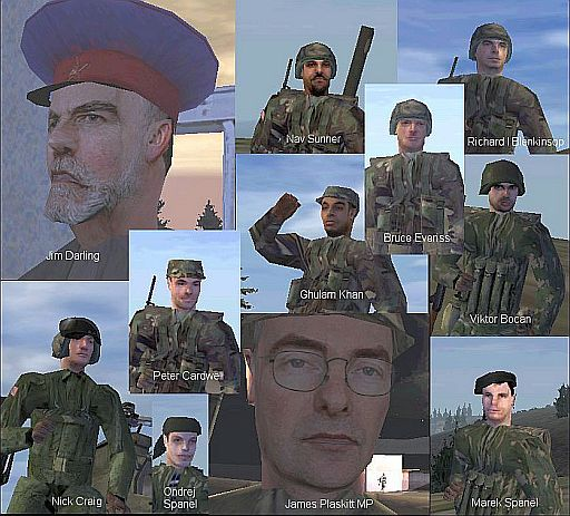 Those Operation Flashpoint faces