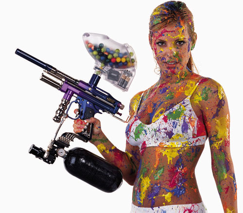 paintball-girl