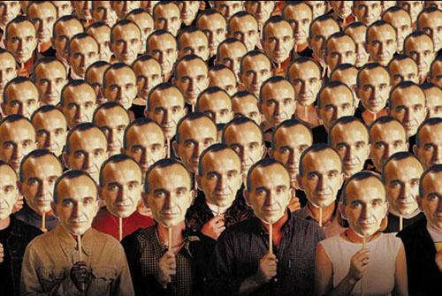 Peter Molyneux masks