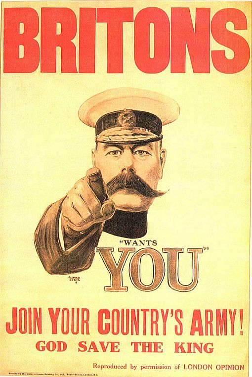 kitchener propaganda poster