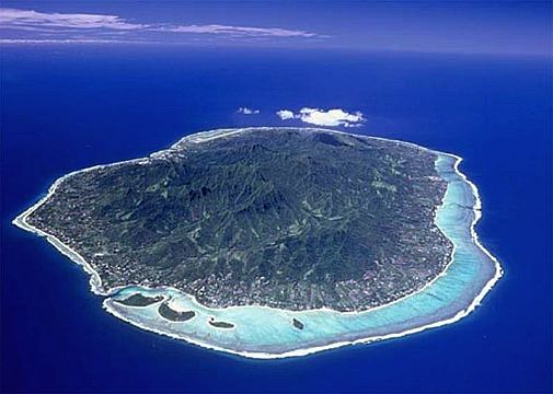 rarotonga, cook islands, south pacific