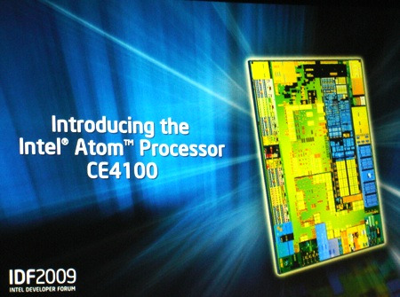 Intel Atom CE4100, the future of gaming