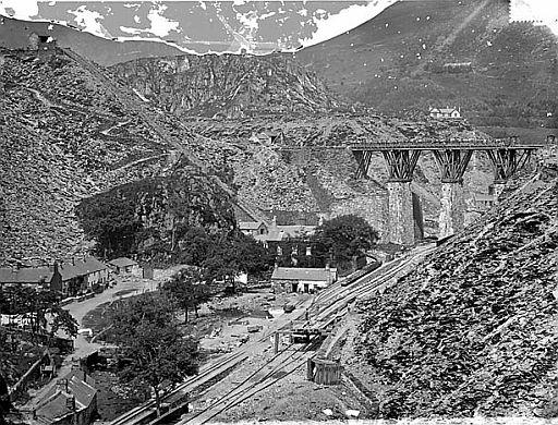 Blaenau Ffestiniog slate mines