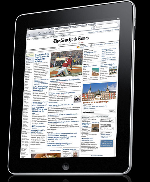 iPad disappoints