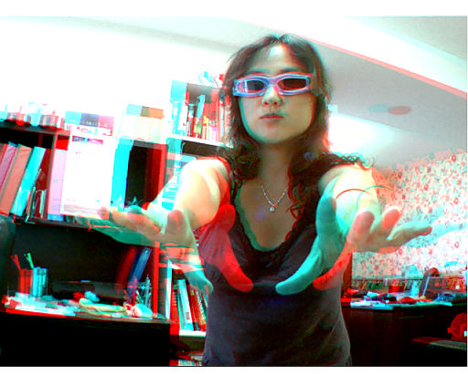 stereoscopic 3D image