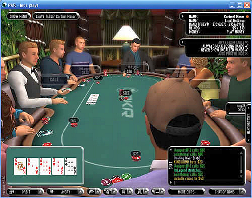 Poker gambling game is foxwood casino